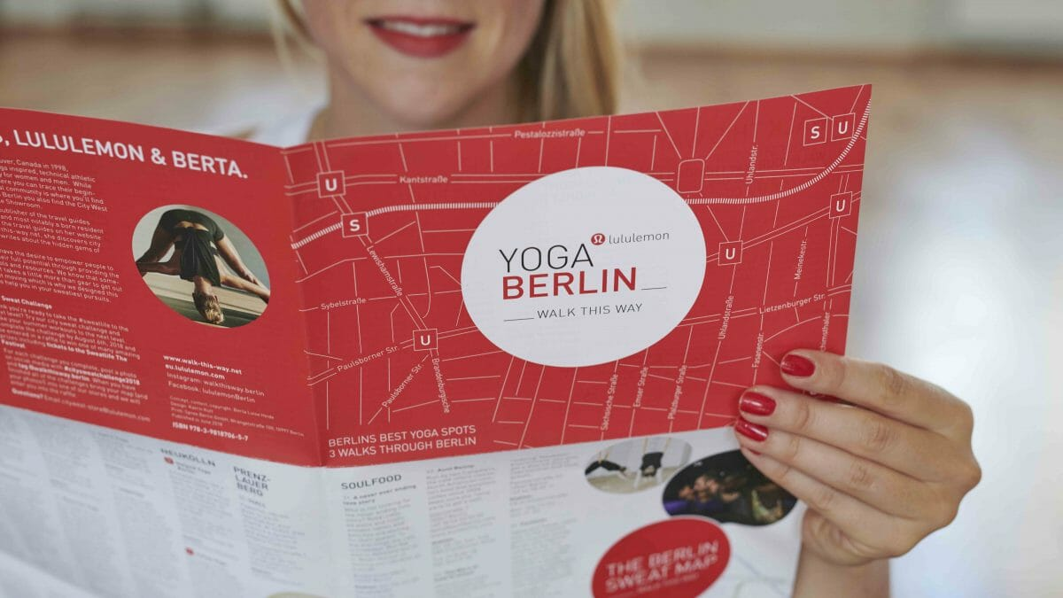 Walk this Way Yoga Map Berlin