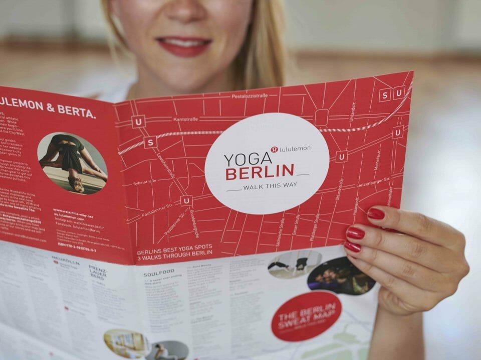 Walk this Way Yoga Map Berlin