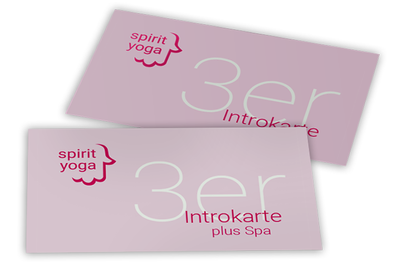 Spirit Yoga 3er Introkarte Kennenlern-Angebot