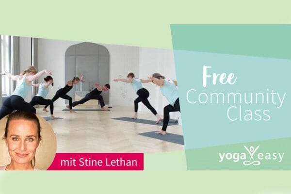 Spirit Yoga Community Class mit YogaEasy und Stine Lethan
