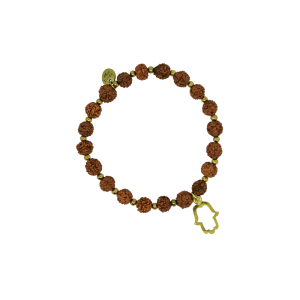 Spirit Yoga Mala-Armband Brass