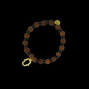Spirit Yoga Mala-Armband Onyx