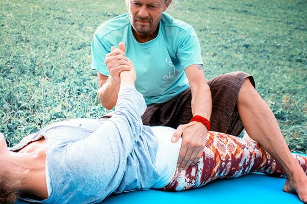 Spirit Yoga Thai Massage Workshop mit Kai Ribereau