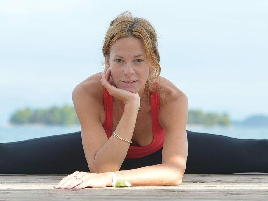 Spirit Yoga Lehrerin Kristin Rübesamen