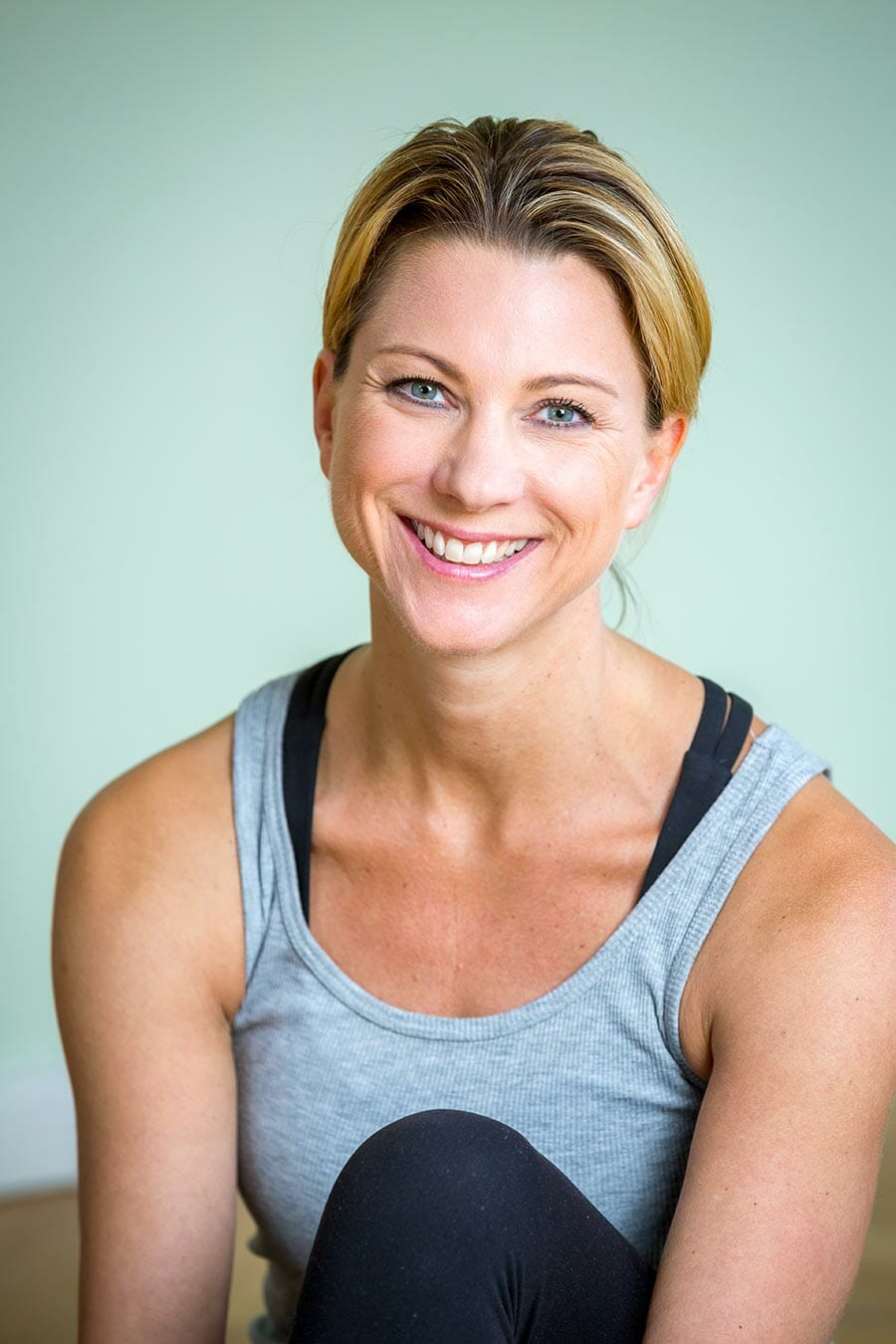 Yogalehrerin Stefanie Franck
