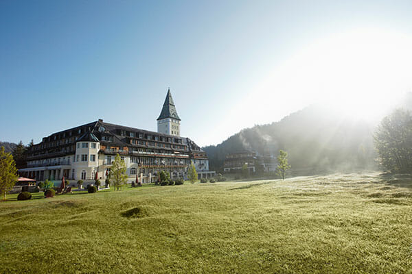 Schloss Elmau Spirit Yoga Retreat